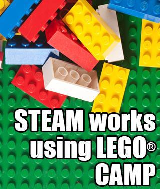 STEAM works Lego camp